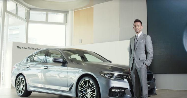 BMW「The all-new BMW 5 Series x 中田英寿」篇